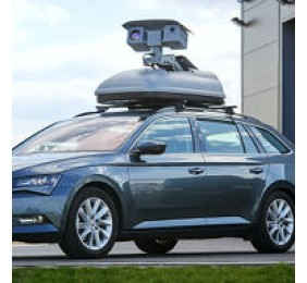 Mobile monitoring roof box system BMS