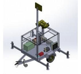 Mobile monitoring trailer