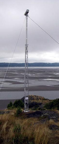 Telescopic Antenna Towers   Guyed Lightweight Telescopic