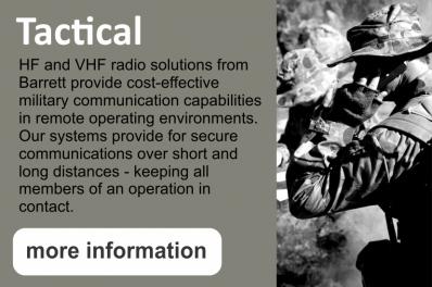 TACTICAL HF & VHF RADIOS