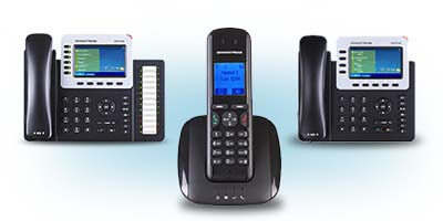 Grandstream's IP Voice Telephony products